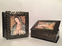 Image Tin Guadalupe Box, Large