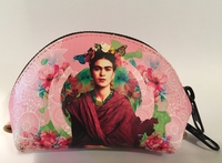 Image Leather Frida Coin Purse, Floral