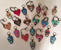 Image Leather Keychains, Buy 12 Get 1 Free