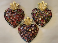 Image Bottle Cap Frida Sacred Heart