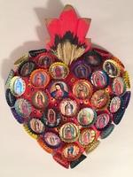 Image Bottle Cap Guadalupe Sacred Heart
