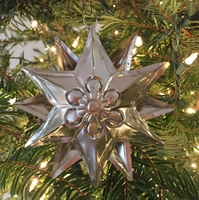 Image Tin Star Ornament