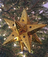 Image Tin Moravian Star, Gold