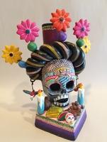 Image Frida Ofrenda with Flowers