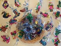 Image Assorted Nostalgic Tin Ornaments, S/10