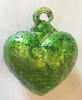 Image Green Heart with Green Leaf