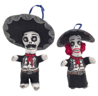 Image Mariachi Skeleton Ornaments, Small