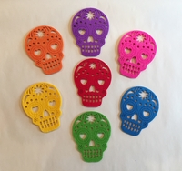 Image Calavera Coasters, Set of 7