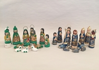 Image Traditional Clay Nativity, Small