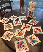 Image Otomi Coasters, Set of 4