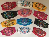 Image Mexican Face Mask, Calavera Designs