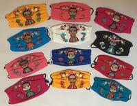 Image Mexican Face Mask, Frida Designs