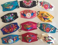Image Mexican Face Mask, Otomi Inspired Designs