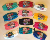 Image Mexican Face Mask, Calavera Design #2