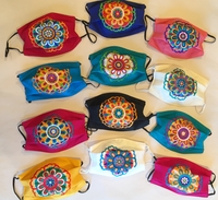 Image Mexican Face Mask, Mandala Designs
