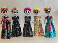 Image Elegant Paper Mache Frida Catrina