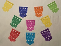 Image Medium Frida Muerta Papel Picado, S/12