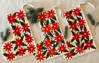 Image Otomi Stocking, Poinsettia