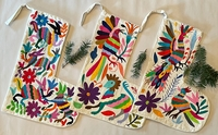 Image Otomi Stocking, Hand Stitching on White