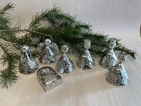 Image Natural Toned Tin Nativity