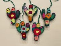 Image Colorful Saguaro Ornament
