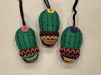 Image Cactus Ornament in Pot
