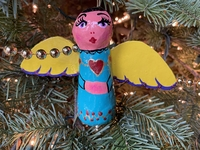 Image Colorful Angel Ornament