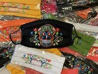 Image Mexican Face Mask, Calavera Design #1