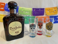 Image Day of the Dead Shot Glasses, Set of Three