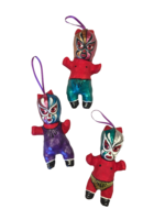 Image Devil Lucha Baby Ornament