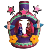 Image Nativity Set with Candle