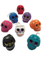 Image Hanging Colorful Skulls